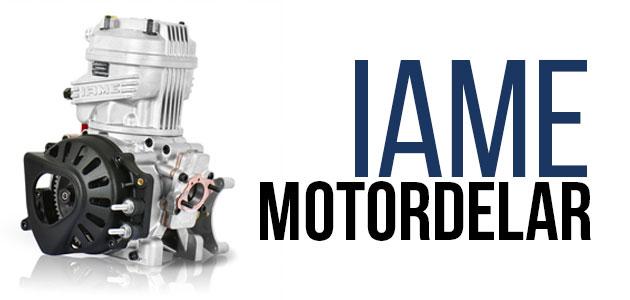 IAME X30 Motordelar