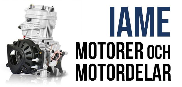 IAME Motorer och Motordelar