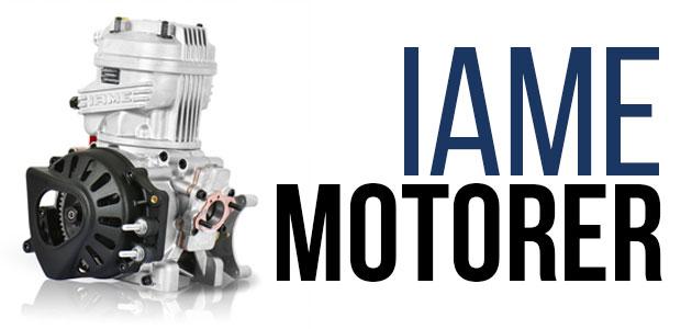 IAME X30 Motorer