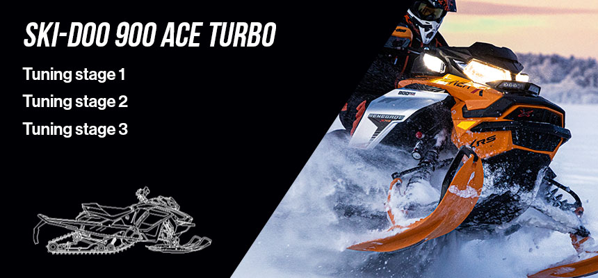 Ski-Doo 900 Ace Turbo Tuning