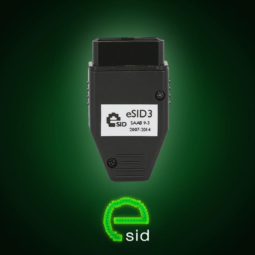 eSID3, Saab 9-3 2007-2014