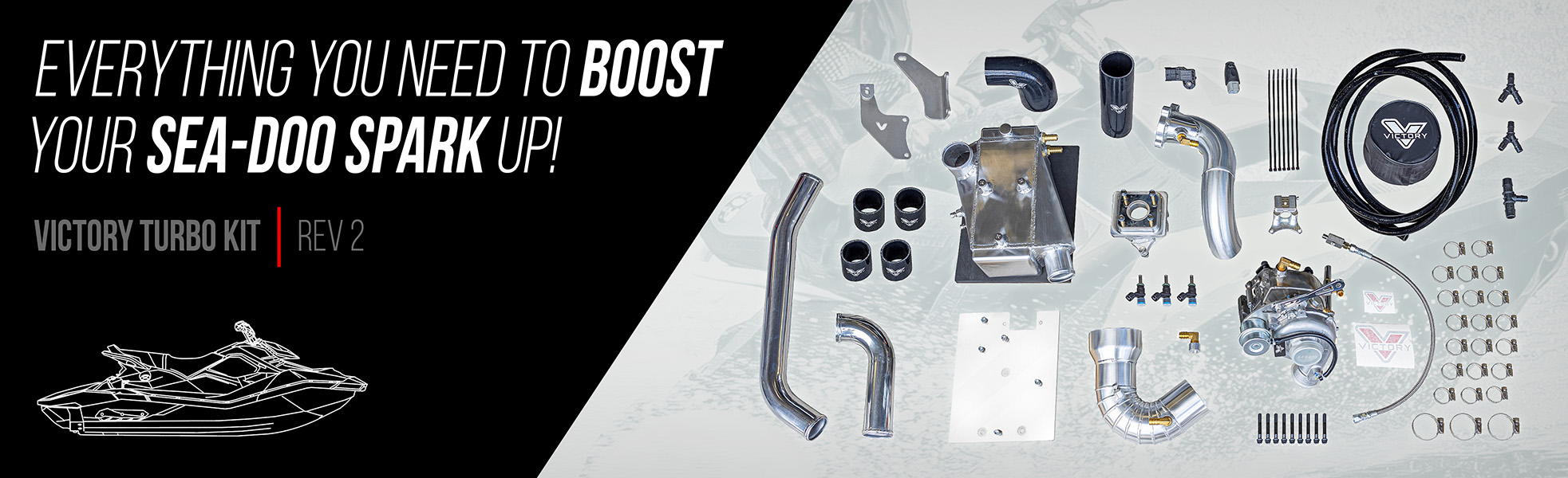 SEA-DOO SPARK | Victory Turbo Kit Rev2