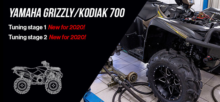 Yamaha Grizzly/Kodiak 700 Tuning